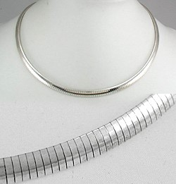 Silver Omega Chain 925 Silver 7.5dwt