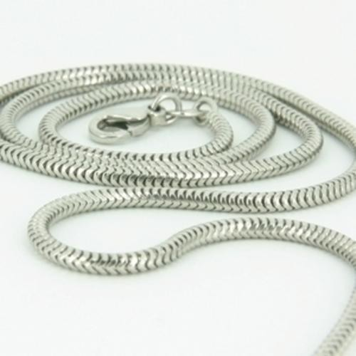 "16"" Silver Snake Chain 925 Silver 1.3dwt"