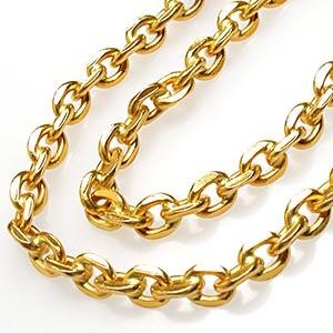 "28"" Gold Anchor Chain 18K Yellow Gold 31.3g"