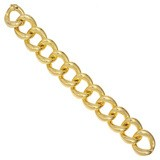 "20"" Gold Link Chain 14K Yellow Gold 4.1g"