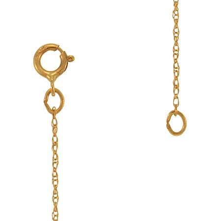 "20"" Gold Serpentine Chain 14K Yellow Gold 4.4g"