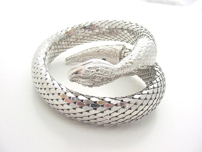 Silver Snake Bracelet 925 Silver 8.5dwt