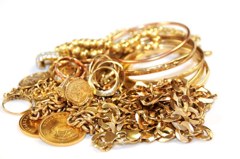 Gold-Scrap 10K Yellow Gold 22.8dwt