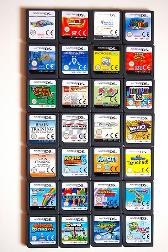 NINTENDO Nintendo DS Game MEGAMAN 5 BATTLE NETWORK DOUBLE TEAM