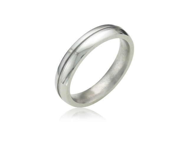 Lady's Ring Silver Titanium 2g