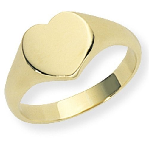 Lady's Gold Ring 14K Yellow Gold 12g Size:5