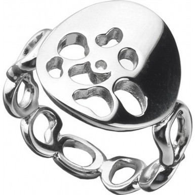 Lady's Silver Ring 925 Silver 2dwt Size:8
