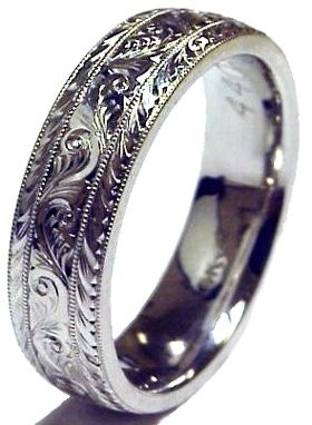 Lady's Platinum Ring 950 Platinum 2.4g Size:5