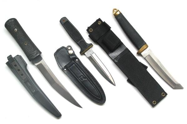 TOPS TOM BROWN KNIVES Combat Knife L-9015