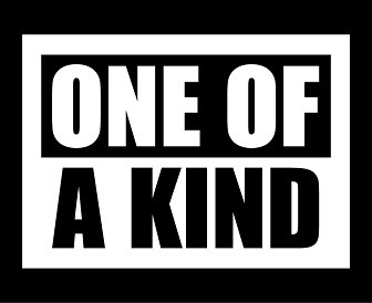 """One of a kind"""