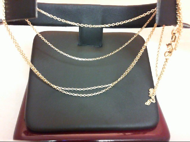 "28"" Gold Chain 14K Yellow Gold 2.1g"