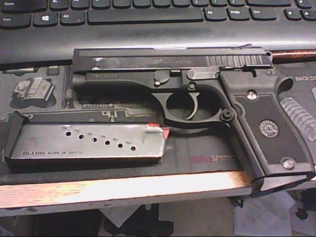 TAURUS Pistol PT-908 BLUED