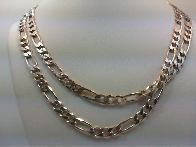 "30"" Silver Chain 925 Silver 33.9g"