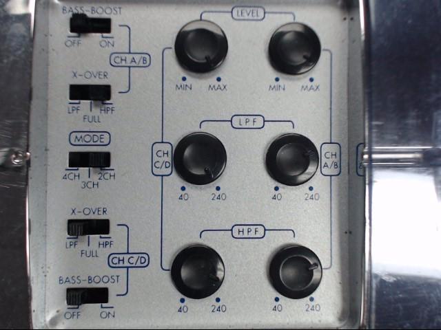 JENSEN XA4100 CAR AMPLIFIER 400 WATTS, 4 CHANNEL