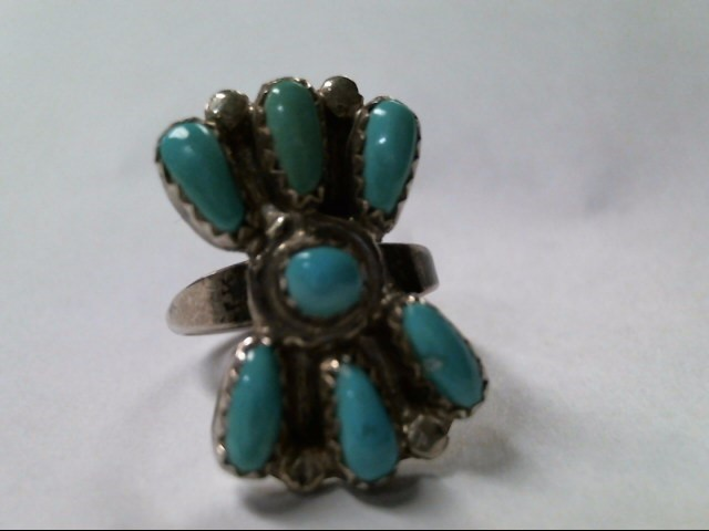 Lady's Silver Ring 925 Silver 4.2g