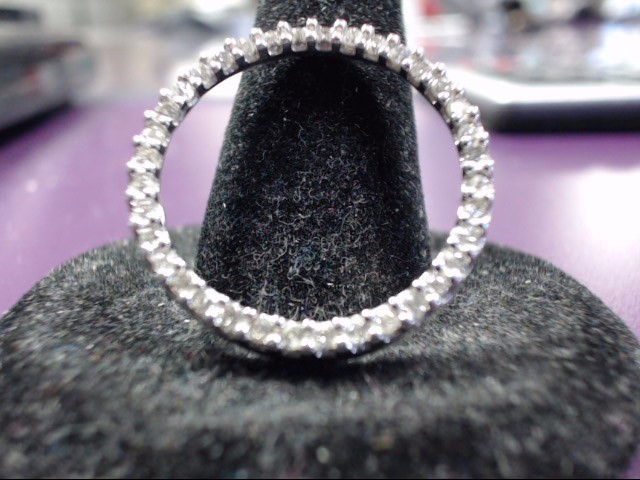 Gold-Multi-Diamond Pendant 35 Diamonds 1.05 Carat T.W. 10K White Gold 2.6g