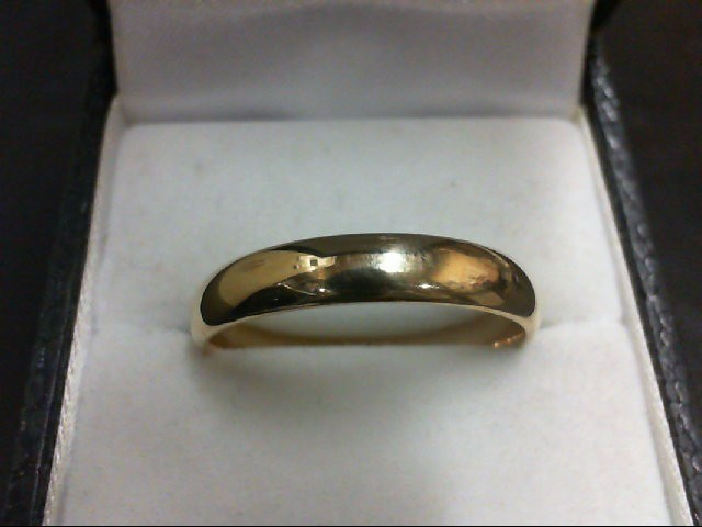 Gent's Gold Wedding Band 14K Yellow Gold 4.5g