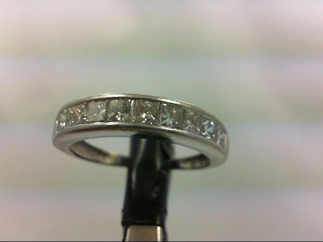 Lady's Platinum-Diamond Anniversary Ring 10 Diamonds 1.00 Carat T.W.