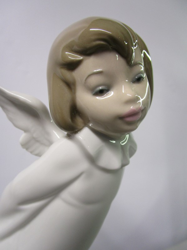 LLADRO SIGNED ANGEL SET!!! # 4959 4960 4961 4962, ALL MINT, 1990, RARE