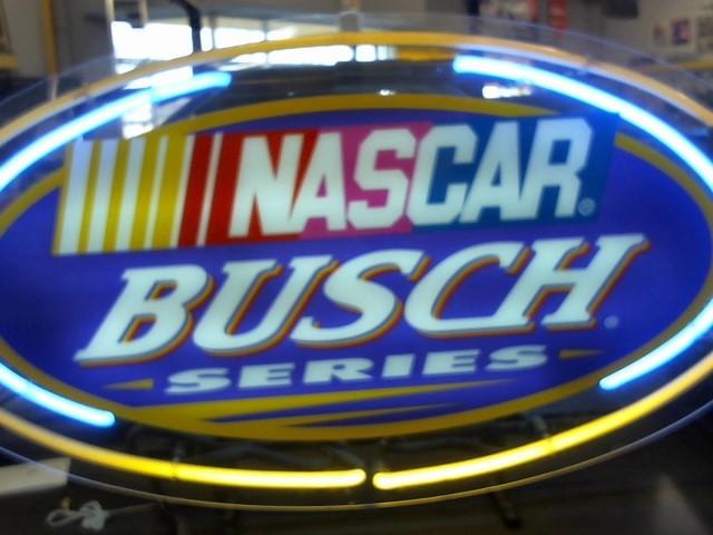 ENHANCE AMERICA EH-9030A BUSCH NASCAR NEON SIGN