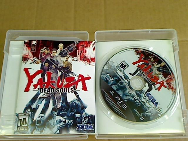 SONY Sony PlayStation 3 YAKUZA DEAD SOULS