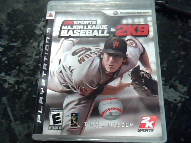 SONY Sony PlayStation 3 Game MAJOR LEAGUE BASEBALL 2K9