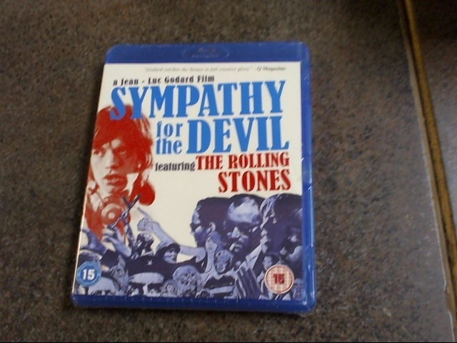 SYMPATHY FOR THE DEVIL featuring the rolling stones BLU-RAY