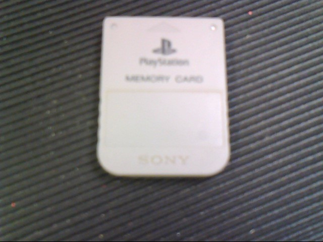 SONY Video Game Accessory MEMORY CARD 8MB