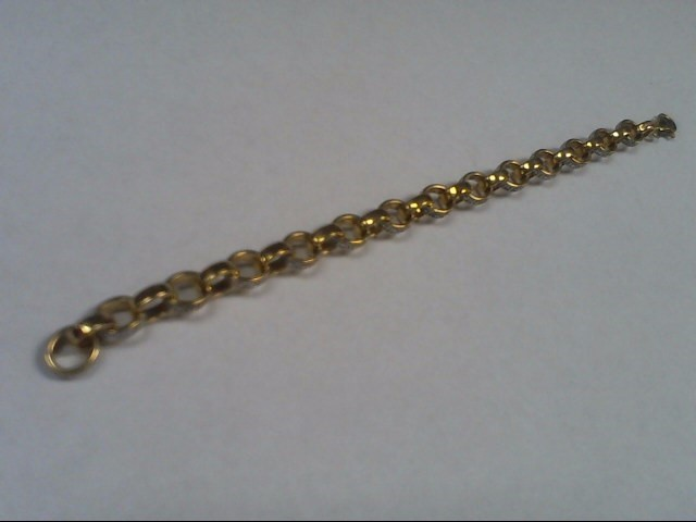 Silver Link Bracelet 925 Silver 12.1g