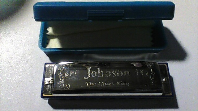JOHNSON Harmonica THE BLUES KING