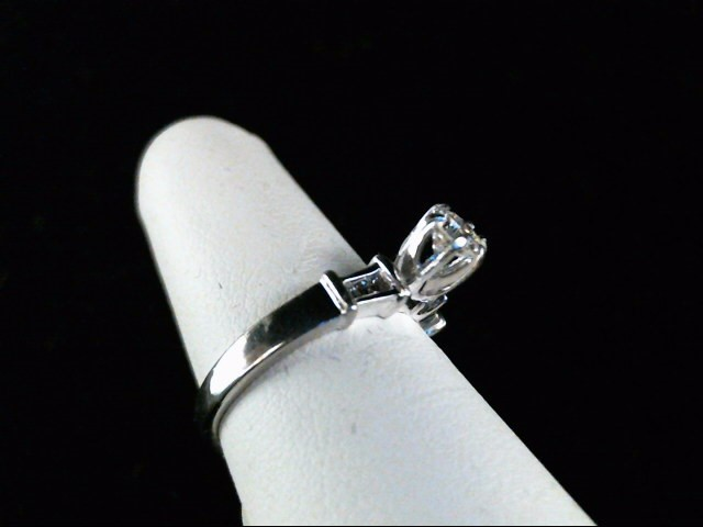 Lady's Platinum-Diamond Wedding Band 7 Diamonds .39 Carat T.W. 950 Platinum