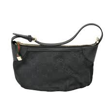 GUCCI 224093 BLACK MINI MONOGRAM BAG