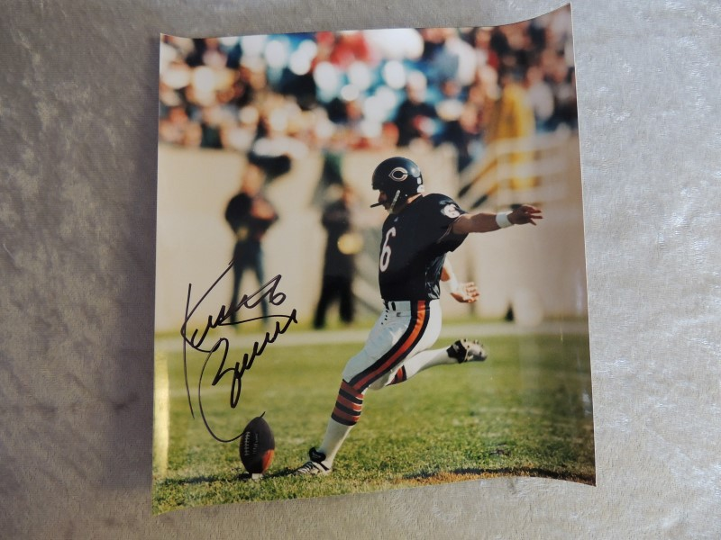 KEVIN BUTLER CHICAGO BEARS AUTOGRAPH 8X10