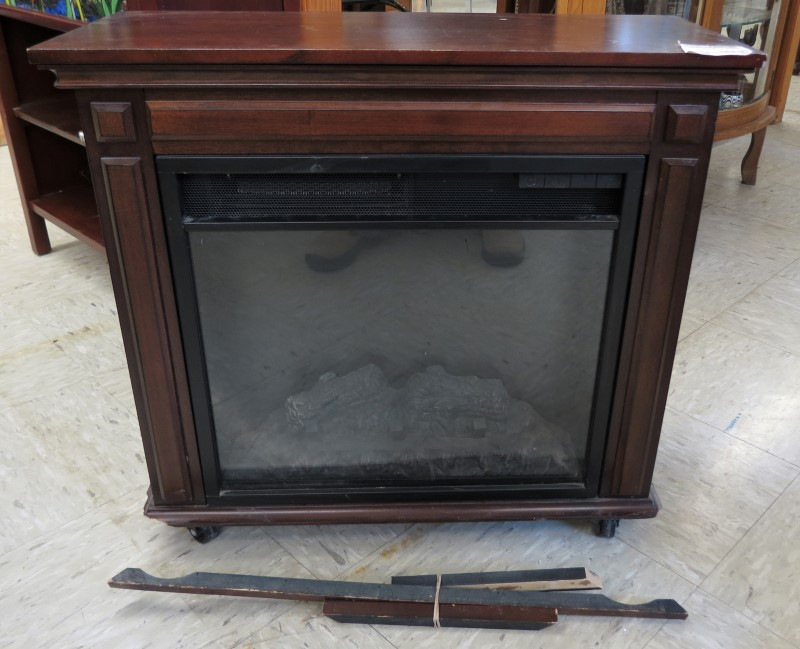Twin Star International Electric Fireplace Heater 18ef023gra Good Buya