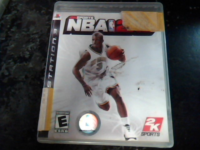 SONY Sony PlayStation 3 Game PS3 NBA 2K8