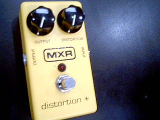 MXR Effect Equipment DISTORTION +