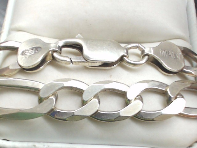 "22"" Silver Chain 925 Silver 40.2g"