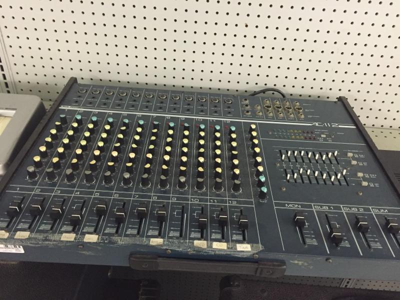 AUDIO CENTRON Mixer AC-112