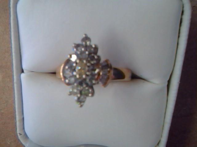 DIAMOND CLUSTER RING JEWELRY , 1