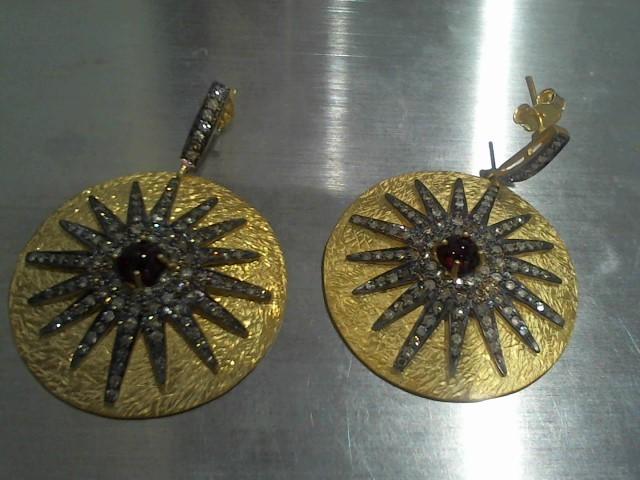 Silver Earrings 925 Silver 24.4g