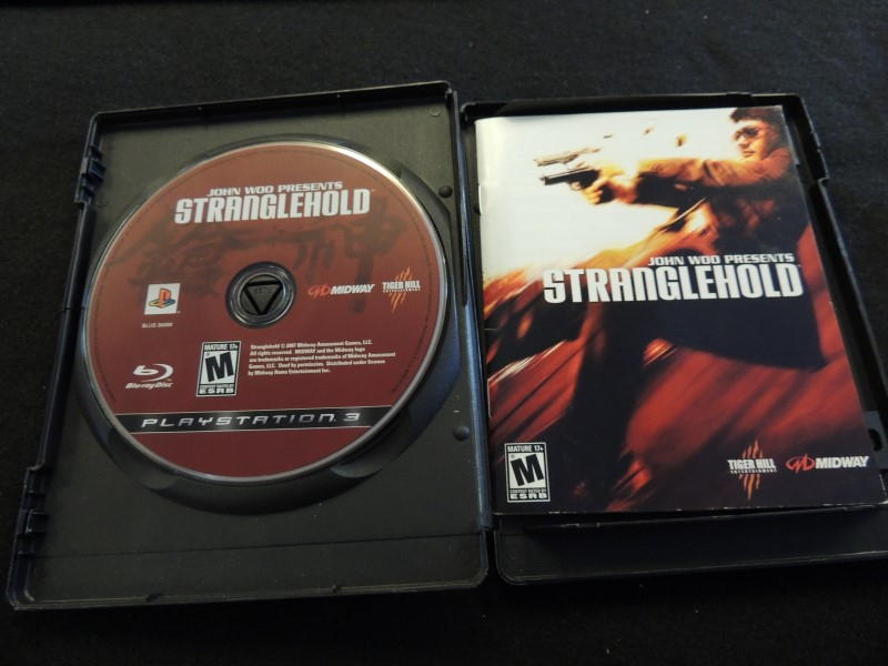 SONY Sony PlayStation 3 Game JOHN WOO PRESENTS STRANGLEHOLD
