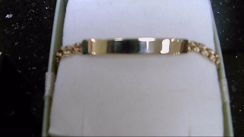 Gold Bracelet 10K Yellow Gold 3.8g