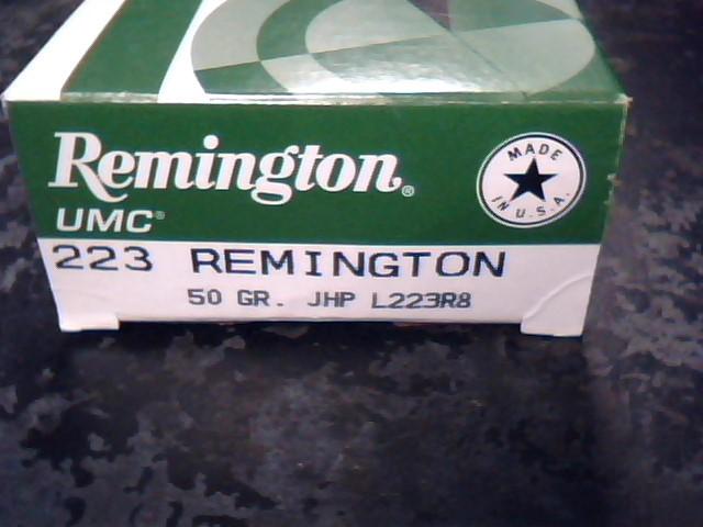 REMINGTON FIREARMS Ammunition L223R8