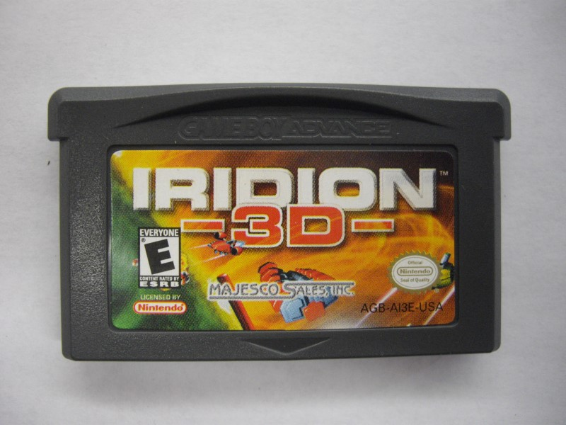 NINTENDO GAME BOY ADVANCE GAME ONLY IRIDION