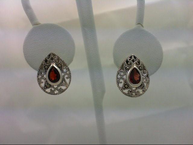 Silver Earrings 925 Silver 3.9g