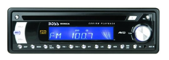 BOSS AUDIO AVA-506CA; BOSS CD CAR RECEIVER FRONT AUX INPUT - NEW