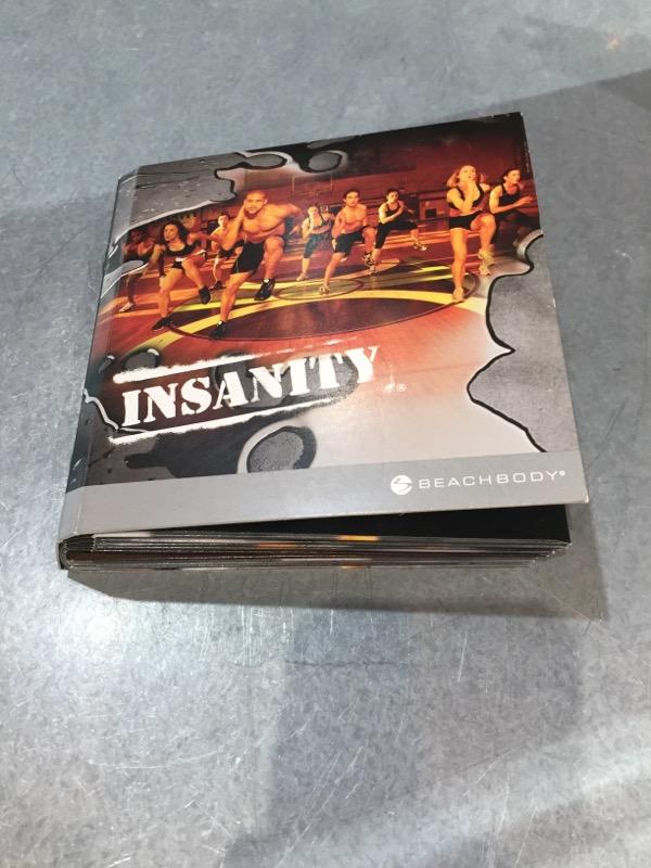 BEACHBODY INSANITY WORKOUT DVD SET