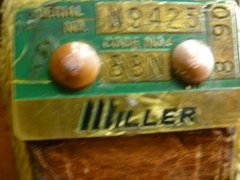 MILLER LINEMEN BELT WITH LANYARD