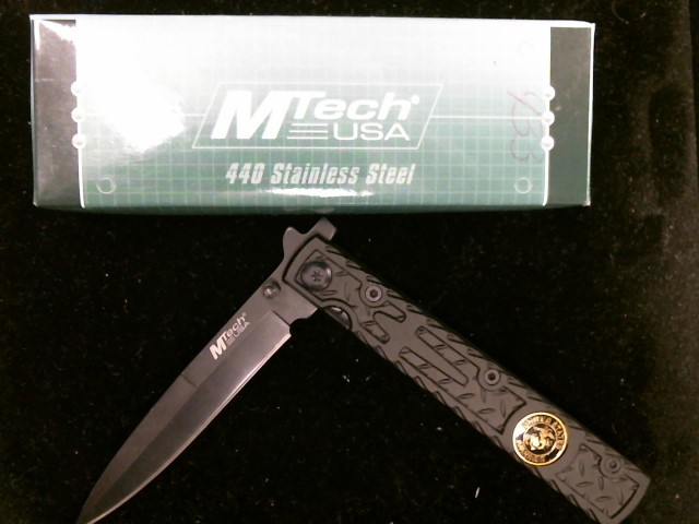 M-TECH USA Pocket Knife MY-449BKM