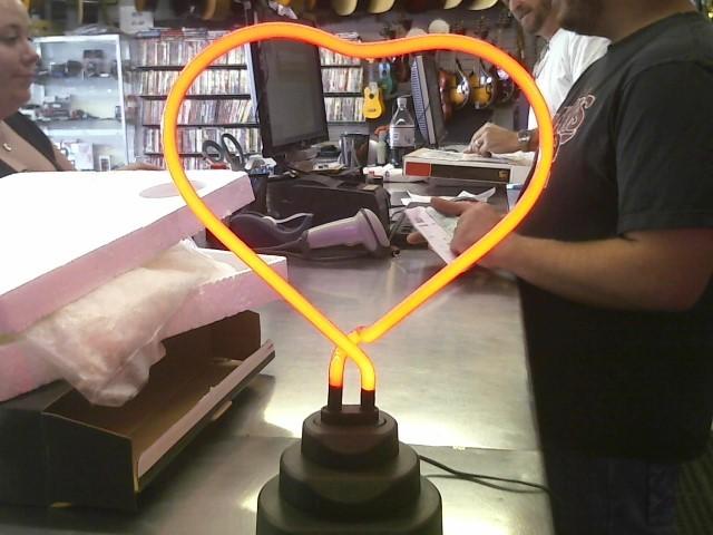 HEART NEON LAMP